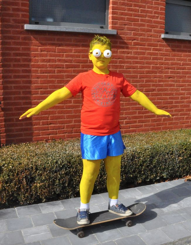 Bart Simpson, verkleden, costume,