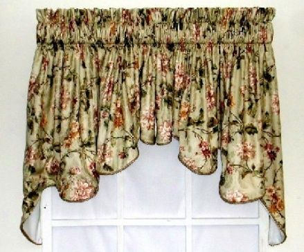 Walmart curtains and valances discount curtains curtain rods kitchen curtains cheap - Kitchen curtains walmart ...