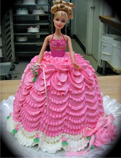 barbie doll cake cake pink dress moio s cakes cake 1499