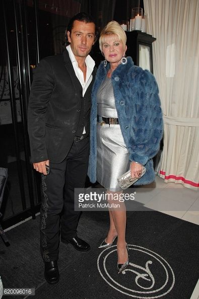 FEBRUARY 13: Rossano Rubicondi and Ivana Trump attend IVANKA... #rossano: FEBRUARY 13: Rossano Rubicondi and Ivana Trump attend… #rossano