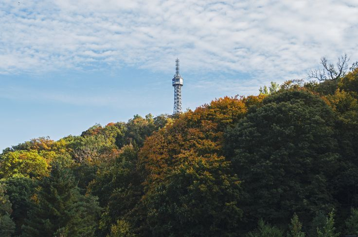 Praha - Petřínská rozhledna #prague #praha #czechrepublic #wandering #wanderlust #ceskarepublika