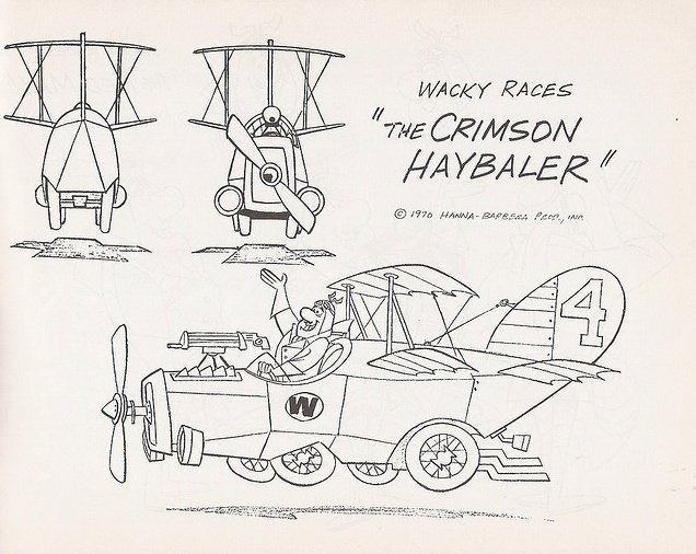 wacky racers coloring pages-#25