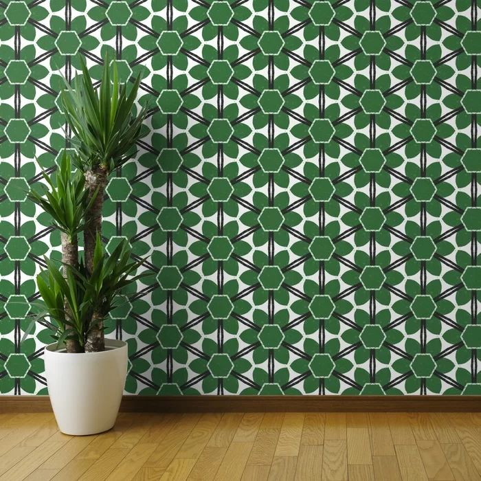 George Oliver Mowry Removable Wallpaper Roll   Wayfair in ...