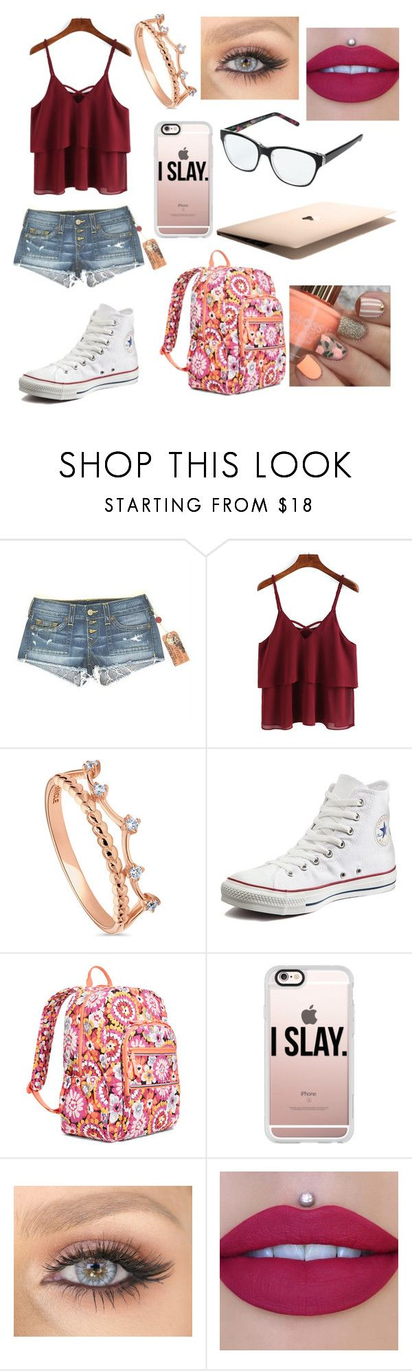 """""""Untitled #81"""" by lexinichols0520 on Polyvore featuring beauty, True Religion, BERRICLE, Converse, Vera Bradley and Casetify"""