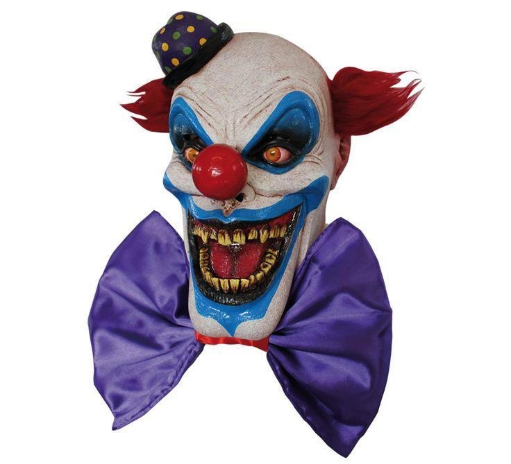 Máscara de Chompo el Payaso. Ideal para Halloween