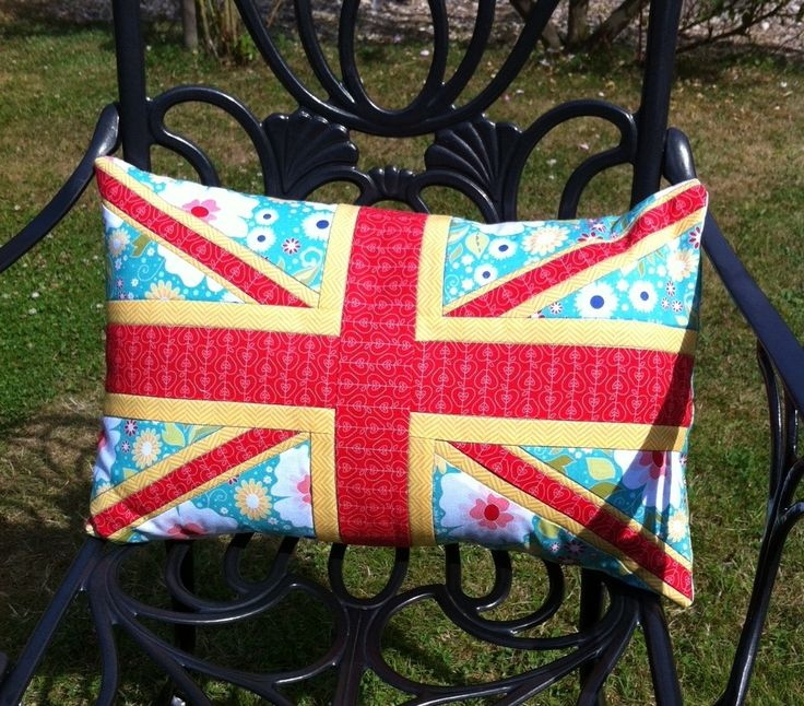 Union Jack Quilted Cushion