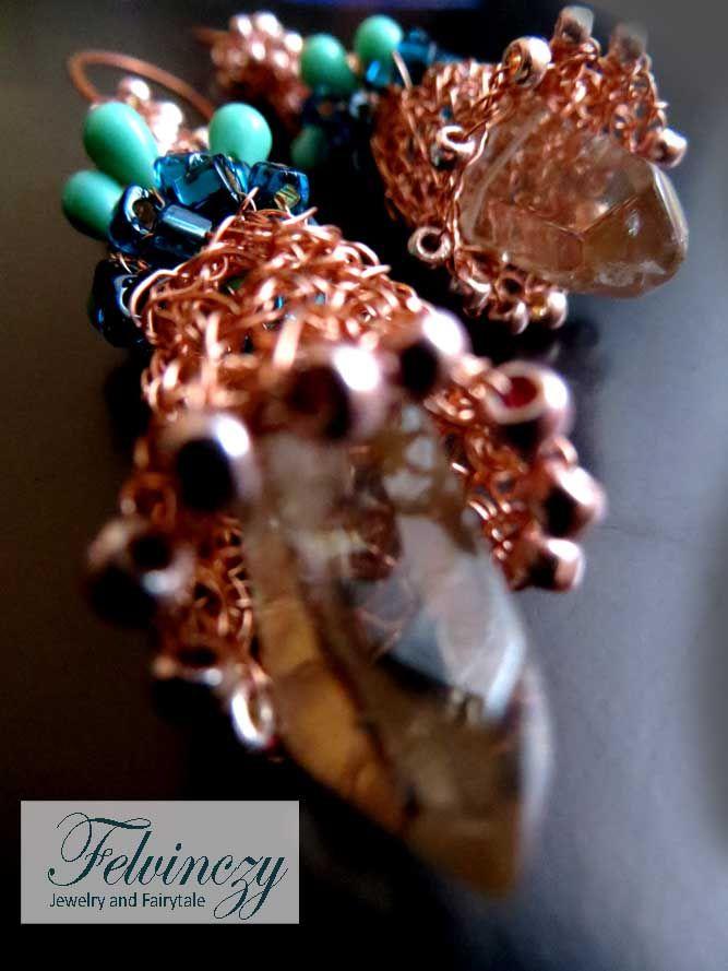 Earrings - detail!