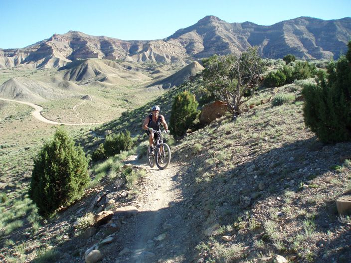 Mountain biking in the North Fruita Desert....check out this site at www.westerncoloradoadventures.com