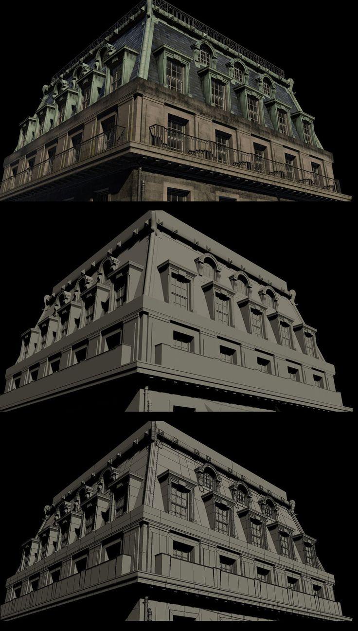 ArtStation - The Order 1886 : Model Breakdowns, Patrick Stone