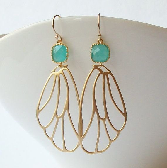11 best Mint Green Earrings by Perini images on Pinterest ...