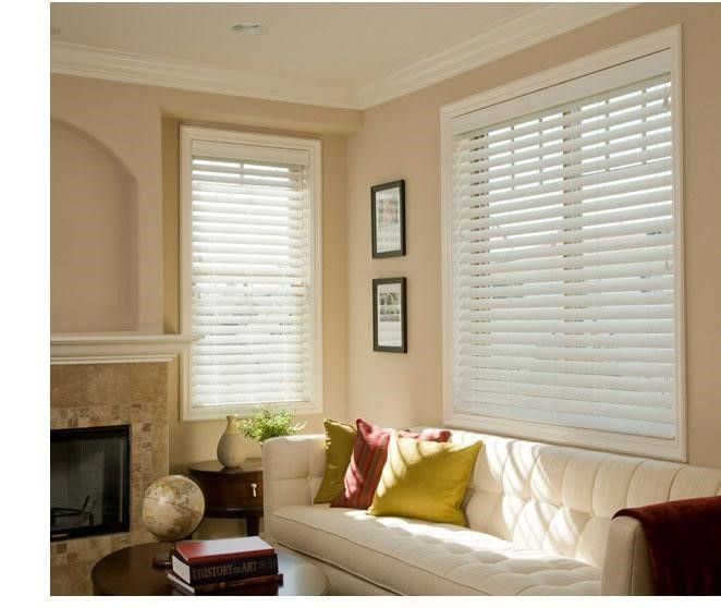 """2"""" & 2 ½"""" Performance Essentials Faux Wood Blinds, YOU WON'T THINK FAUX WOOD – YOU'LL THINK, FANTASTIC"""