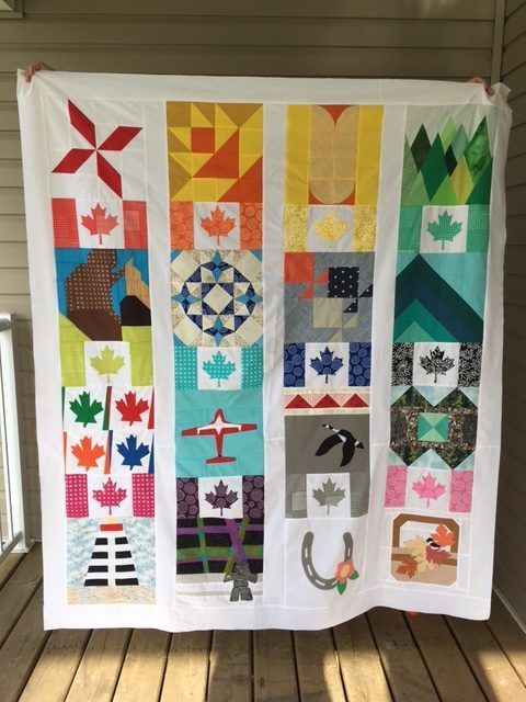 Canadian Summer Quilt Along Quilt Canadian Quilts Quilting