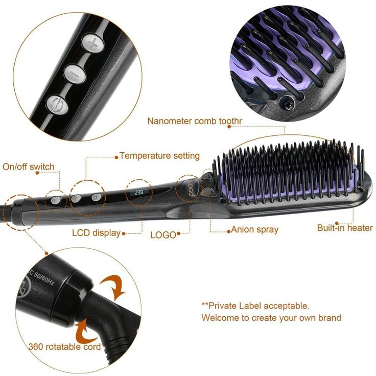2017 Hot Sale Led Display Rechargeable Cheap Eectric Hair Straightner Brush With Private Label - Buy Hair Straightner Brush,Eectric Hair Straightner Brush,Cheap Hair Straightner Brush Product on Alibaba.com