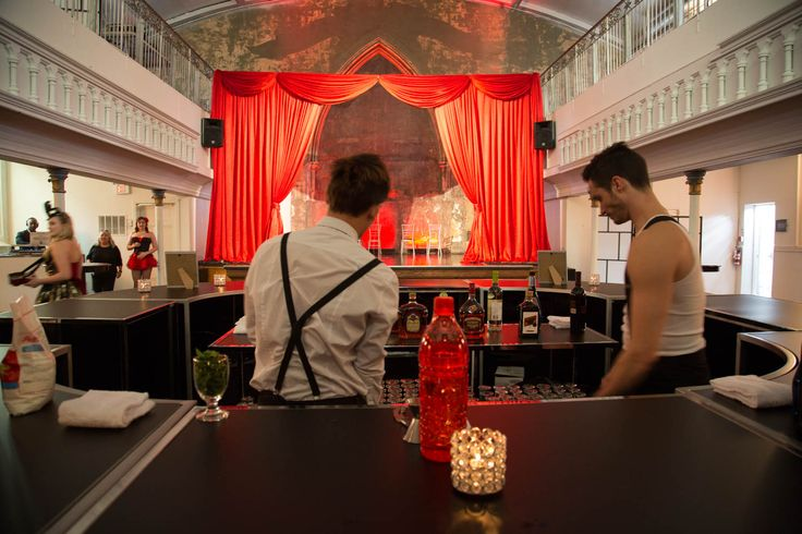 An Elegant Corporate Cabaret themed Work Party at Berkeley Church