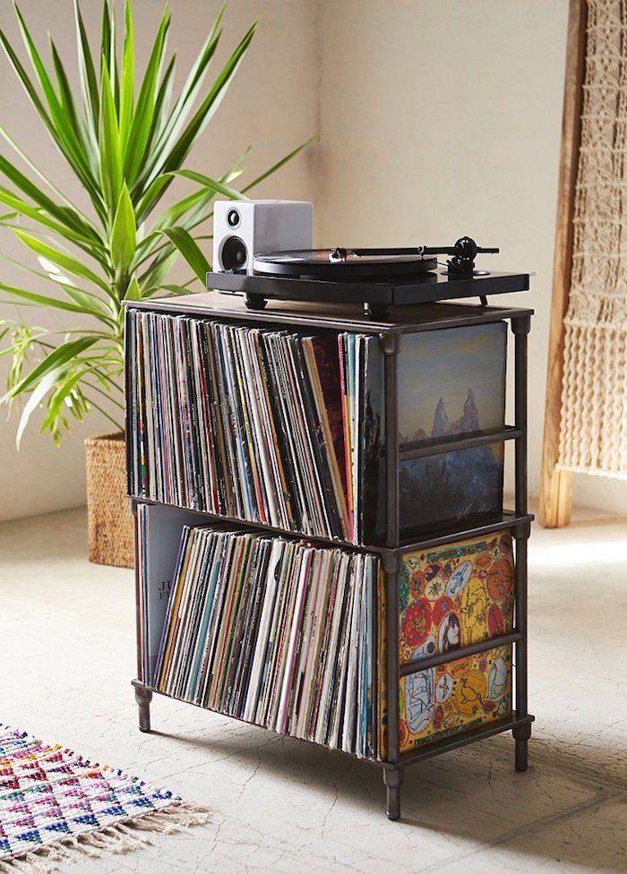 46 Meubles Pour Ranger Des Vinyles Meuble Vinyle Meuble Pour Platine Vinyle Rangement Vinyle