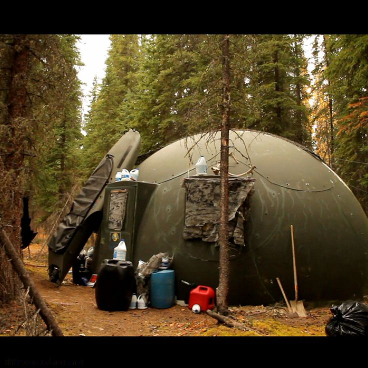 Ultimate Mobile Emergency Shelter! This is a bullet resistant dome shelter made by Intershelter for the military. It will last over 30 yrs, won't dampen or mildew, is fire resistant, can withstand hurricane winds & falling rocks, and can be taken down and reassembled as often as needed.