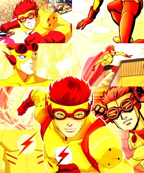 I will never be over his death. Kid Flash was my favorite character in Young Justice. And now he's dead! *sobs for an hour*