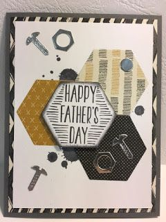 Nailed It, Build It, Gorgeous Grunge, Father's Day, Stampin' Up!, Rubber Stamping, Handmade Cards