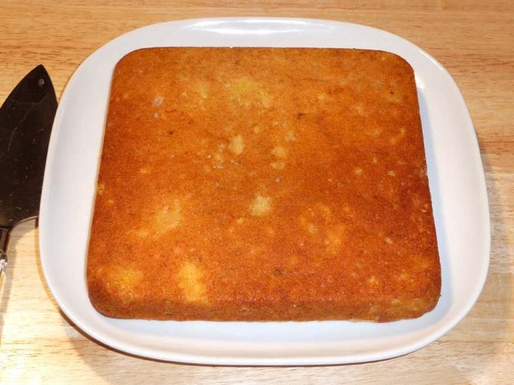 2 Ing Pineapple Cake Angel Food With Recipe From Eggless