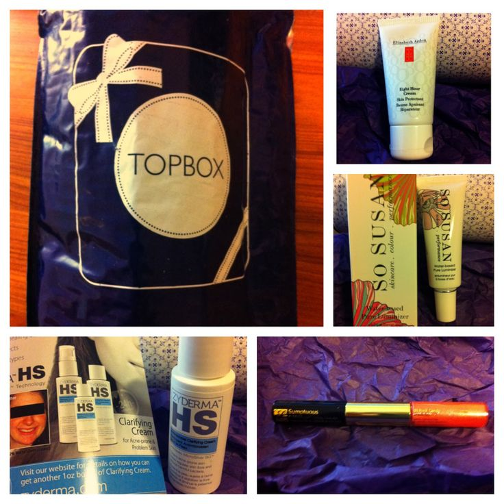 Topbox Review (February 2014) - Monthly Beauty Subscription Box  #topbox