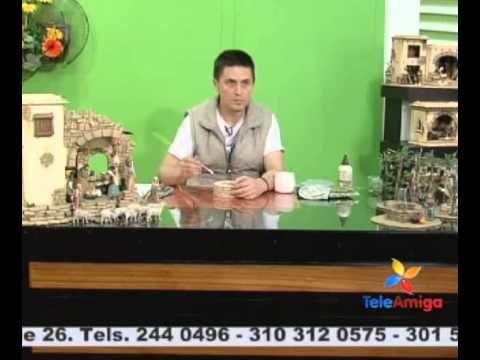 COMO HACER PORTAL DE BELEN CON CARTON, MUY FACIL - YouTube