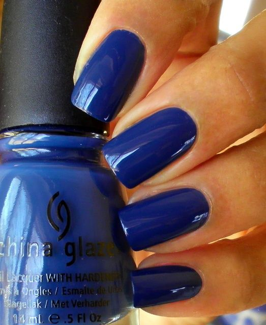 China Glaze First Mate: Here are some pretty blue shades for you to jazz up your nails this season.