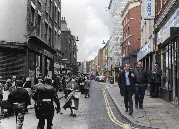 Londres antes y ahora Brick Lane