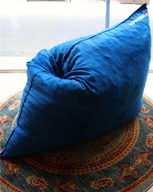 #Pillowsac #Microsuede #MykonosBlue #LovesacOz #LovesacAustralia