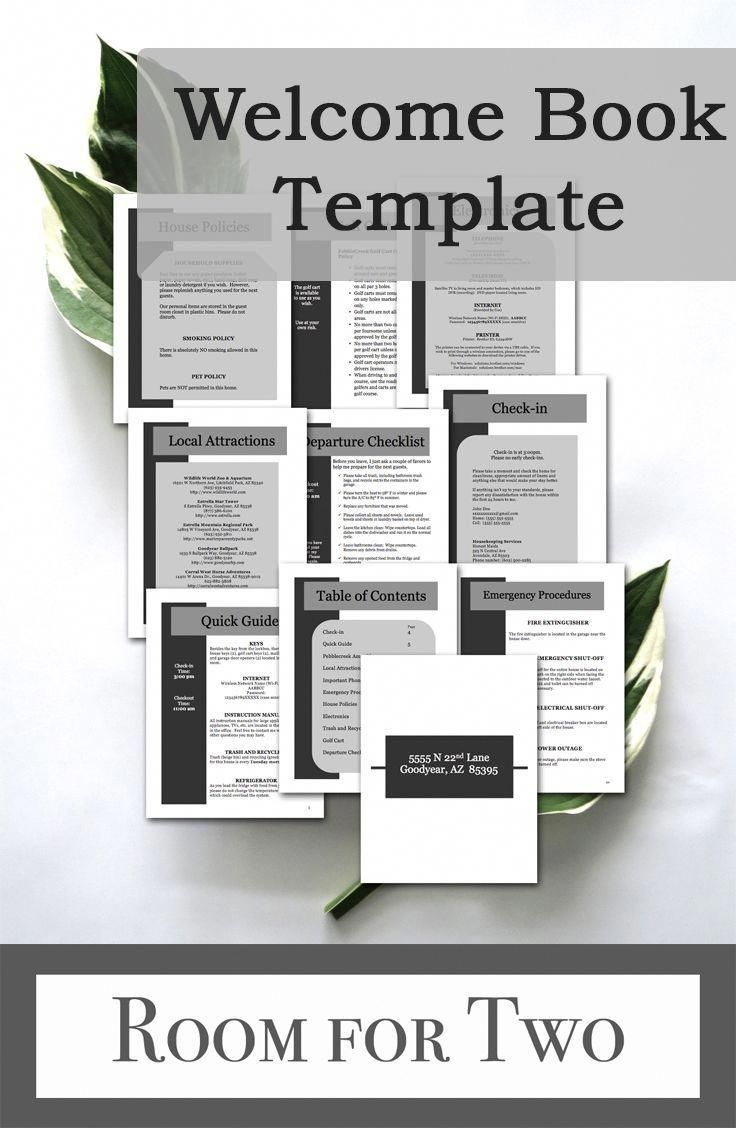 Airbnb Printables Host Recommendations Vacation Rental Etsy In 2021 Vacation Rental Airbnb Business Plan Template