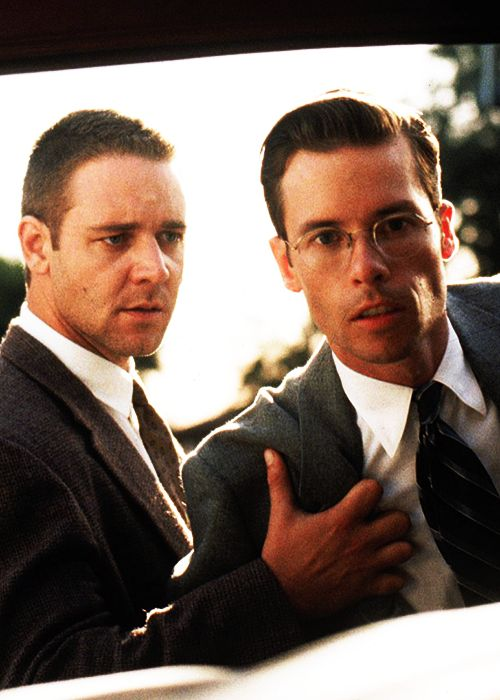 L.A. Confidential (1997) - Russell Crowe & Guy Pearce, best pair of breakout roles (and accent changes) ever!