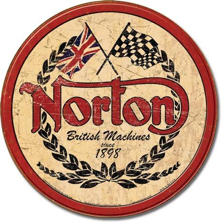 Norton Motorcycles... Color combo/shape/design inspiration for Digard-esq crochet scarf
