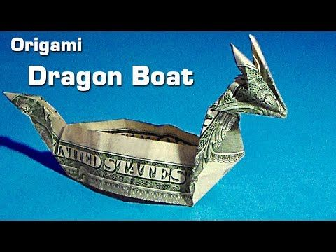 Origami Dragon Boat dollar origami dragon boat , m…
