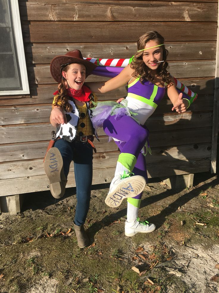 diy homemade teen toy story buzz light year and woody halloween costumes adorable with andy - Easy Homemade Halloween Costumes Teens