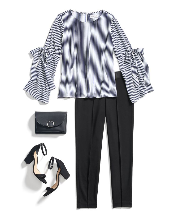 Tie off the week in style—with bell sleeves & bows! Just add trousers to take your look from day to night. #StylistTip