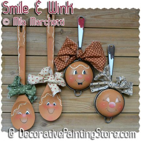 Smile and Wink ePattern - Mila Marchetti - PDF DOWNLOAD