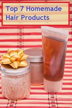 Top 7 Homemade Hair Products For Beautiful Hair How to make a herbal hair detangler, a couple of fantastic homemade shampoo recipes, an Ayurvedic hair rinse recipe, a tea rinse recipe, a scalp treatment and a hair lotion recipe.