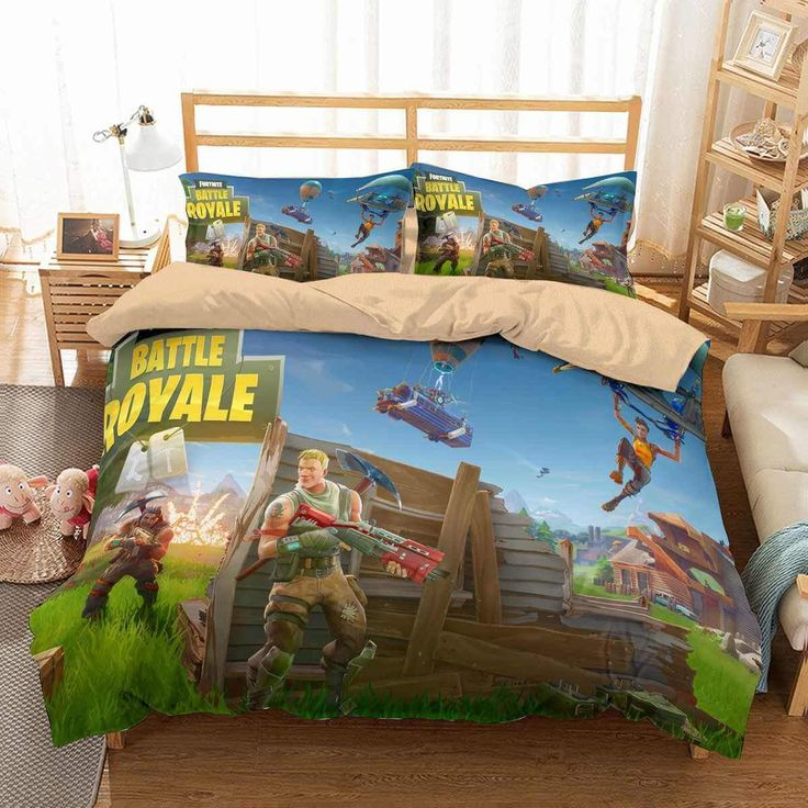 3d Customized Duvet Cover Bedding Sets, Fortnite Queen Size Bed