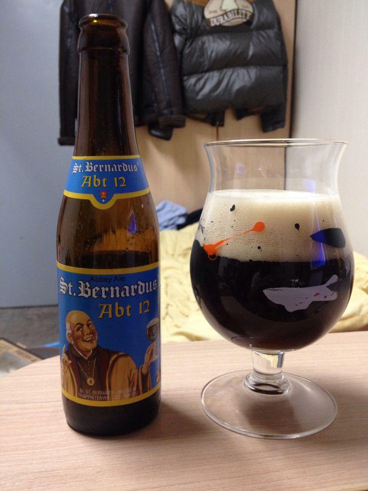 벨기에 신트 버나두스 Abt 12. 다양한 향이 조화롭게 깊은 맛을 만들어내는 좋은 맥주.