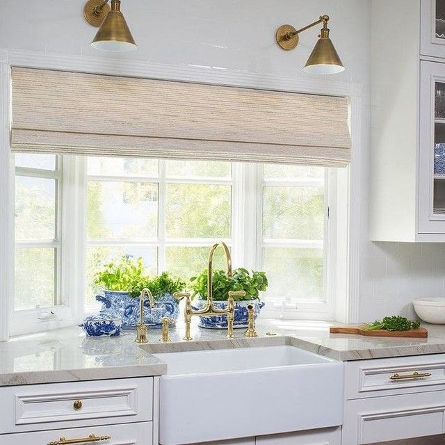 Garden Kitchen Windows Bay Window Above Kitchen Sink: Boston Functional Single Arm Library Light In 2020