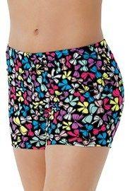 Mini Bow Print Shorts