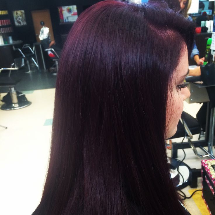 Violet Hair Colors, Red Violet Hair