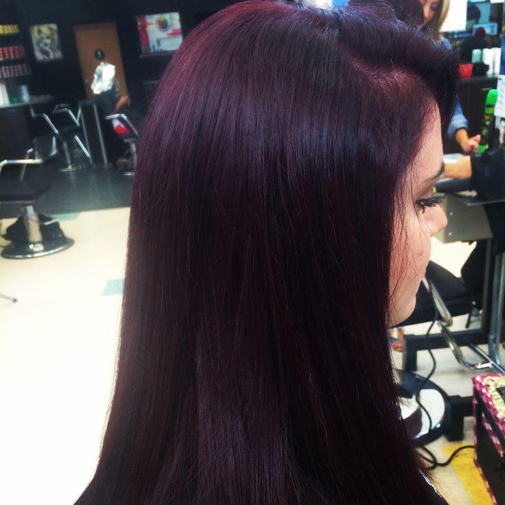 1000 Images About Red Violet Hair On Pinterest Violets
