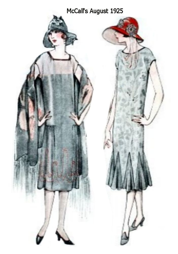 10 11 Mccall S August 1925 Fashion Ilrations 1920 Fler 20 Things I Love In 2018 Pinterest