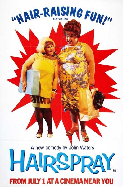 "The Original John Waters ""Hairspray"" Movie From 1988... I love the original so much I refuse to even watch the newer one!"