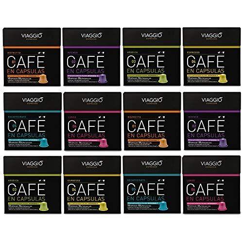 Viaggio Espresso Capsulas De Cafe Surtido Compatible Con