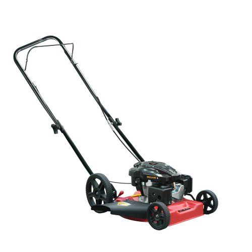 Warrior Tools WR65486 Gas Powered Push Lawn Mower, 21-Inch, Red - [HOME & GARDEN]