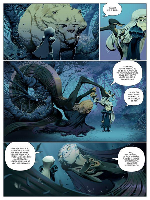 L´ILE SANS SOURIRE comic book by Enrique Fernandez, via Behance