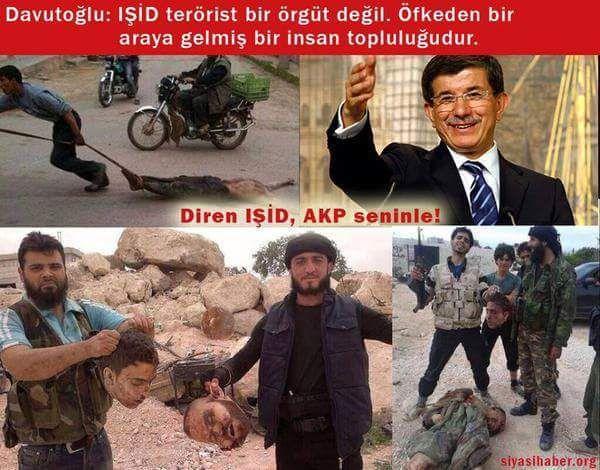 Hafizaları tazeliyelim Akp uzun süre İŞİDe terör örgütü diyememisti. Sebebi belli oldu.! İŞİDciler AKPliÇıktı .