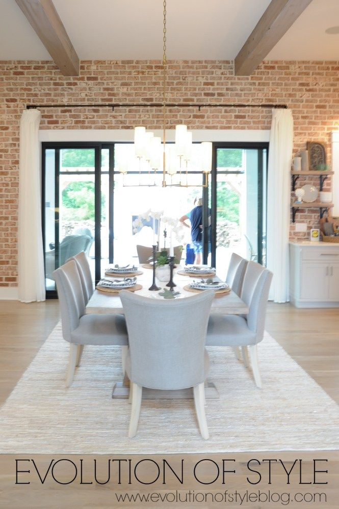 Bon Exposed Brick Wall In Dining Room Dining Room Walls, Dining Room Design,  Exposed Brick