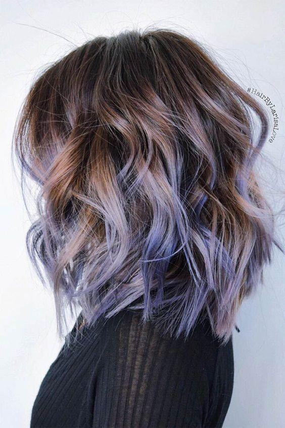 Fantastic 17 Best Ideas About Medium Length Ombre Hair On Pinterest Fall Short Hairstyles Gunalazisus